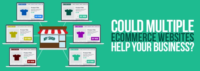 Multiple ecommerce websites