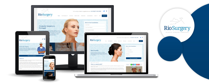 Rio Surgery responsive website