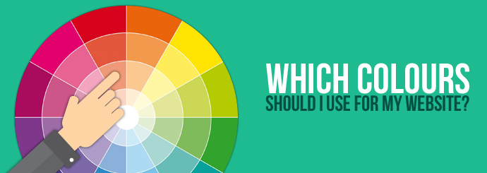Which colours should I choose for my website design?