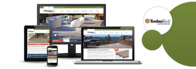 A New Design for TimberTech's Website