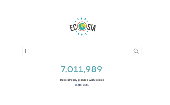 Ecosia Eco-Friendly Search Engine