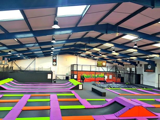 jump factory indoor trampoline park