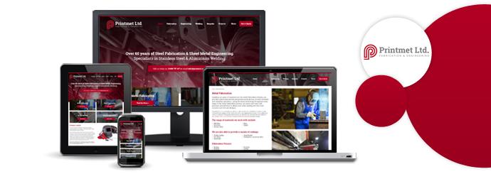 Printmet Website