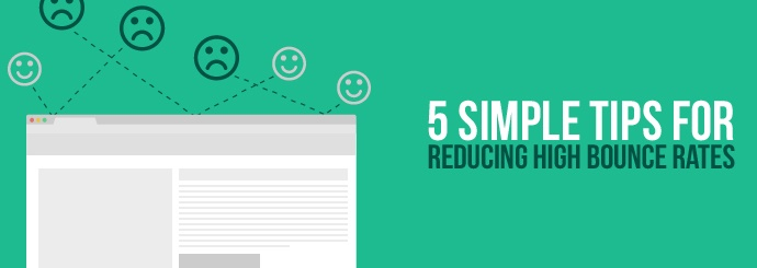 Reduce High Bounce Rates
