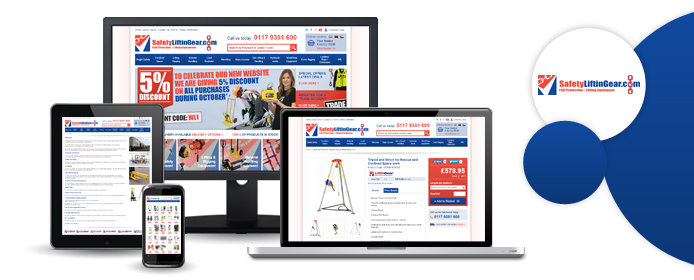 Safety Lifting Gear website