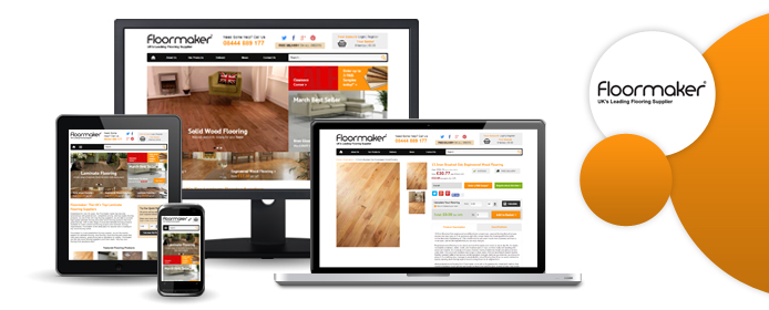 Previews of the new Floormaker site