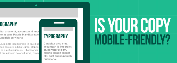 Mobile-friendly site copy