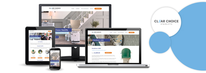 A New Website for Clear Choice Stairlifts