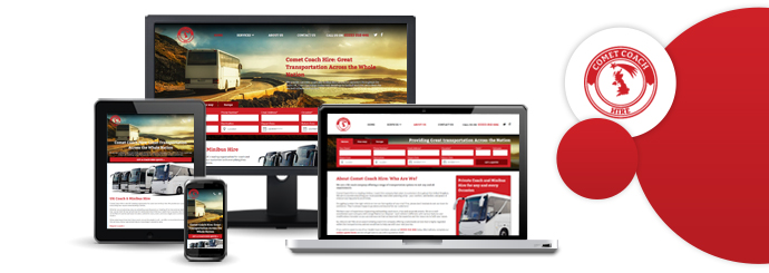 Comet Coach Hire Website