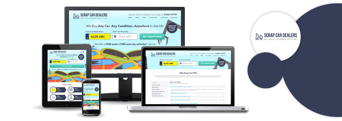 A&L Scrap Car Dealers Website