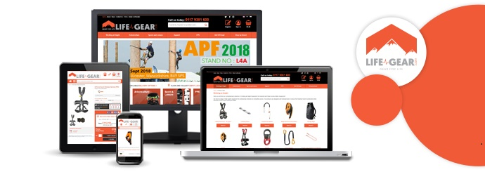 Life Gear Website