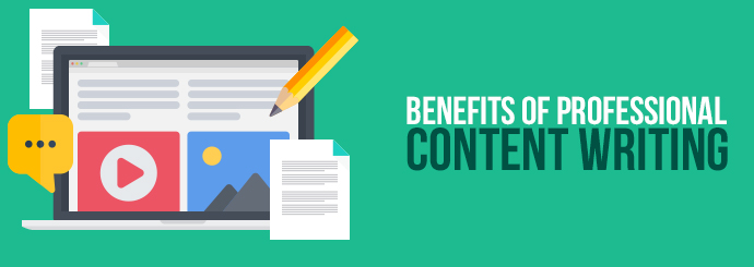 benefits of professional content writing