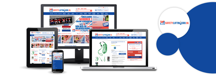 Brand-new Dutch Website for Lifting Goods Specialist SafetyLiftinGear