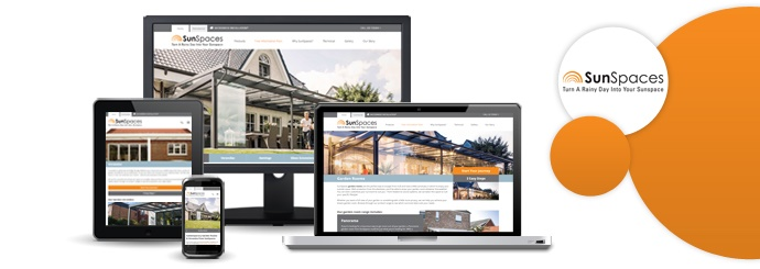 New SunSpaces Website Design