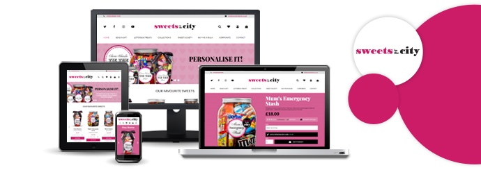 Sweets in the City Website
