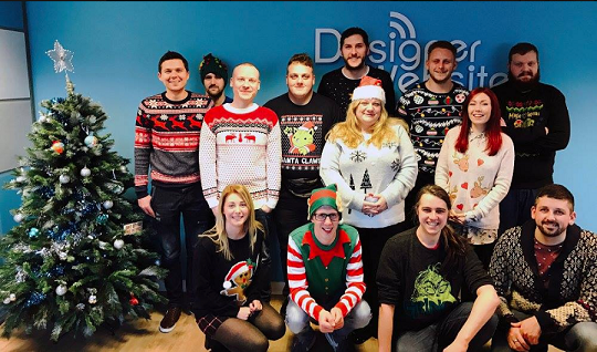 DW Christmas Jumper Day