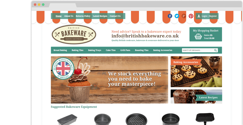 British Bakeware Project