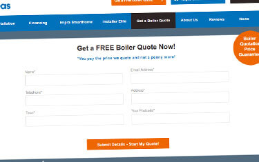 Boiler Quote Tool