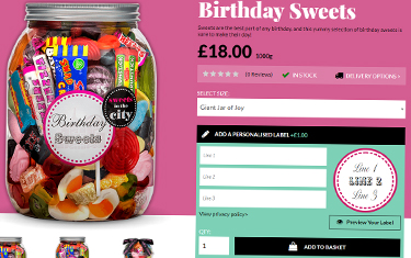 Personalising Your Purchases